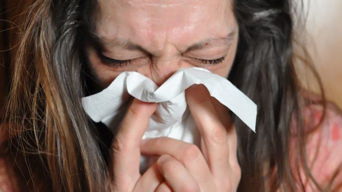 Erkältung kurz vor der Geburt